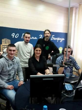 Gostovanje na Radio Beogradu
